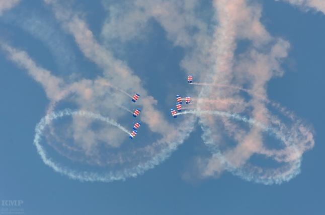 RAF Falcons Parajumpers
