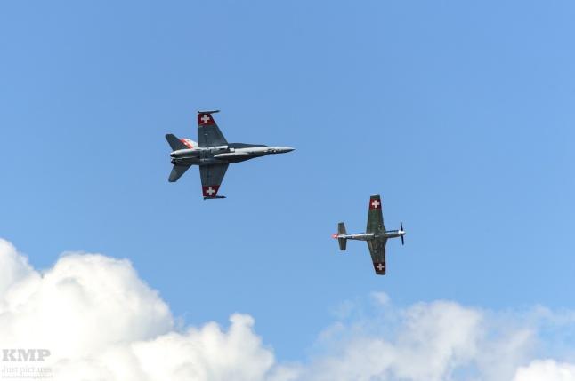 SAF F/A-18 C/D Hornet & PC-9 Target Tow