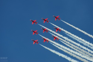 RAF Aerobatic Team Red Arrows