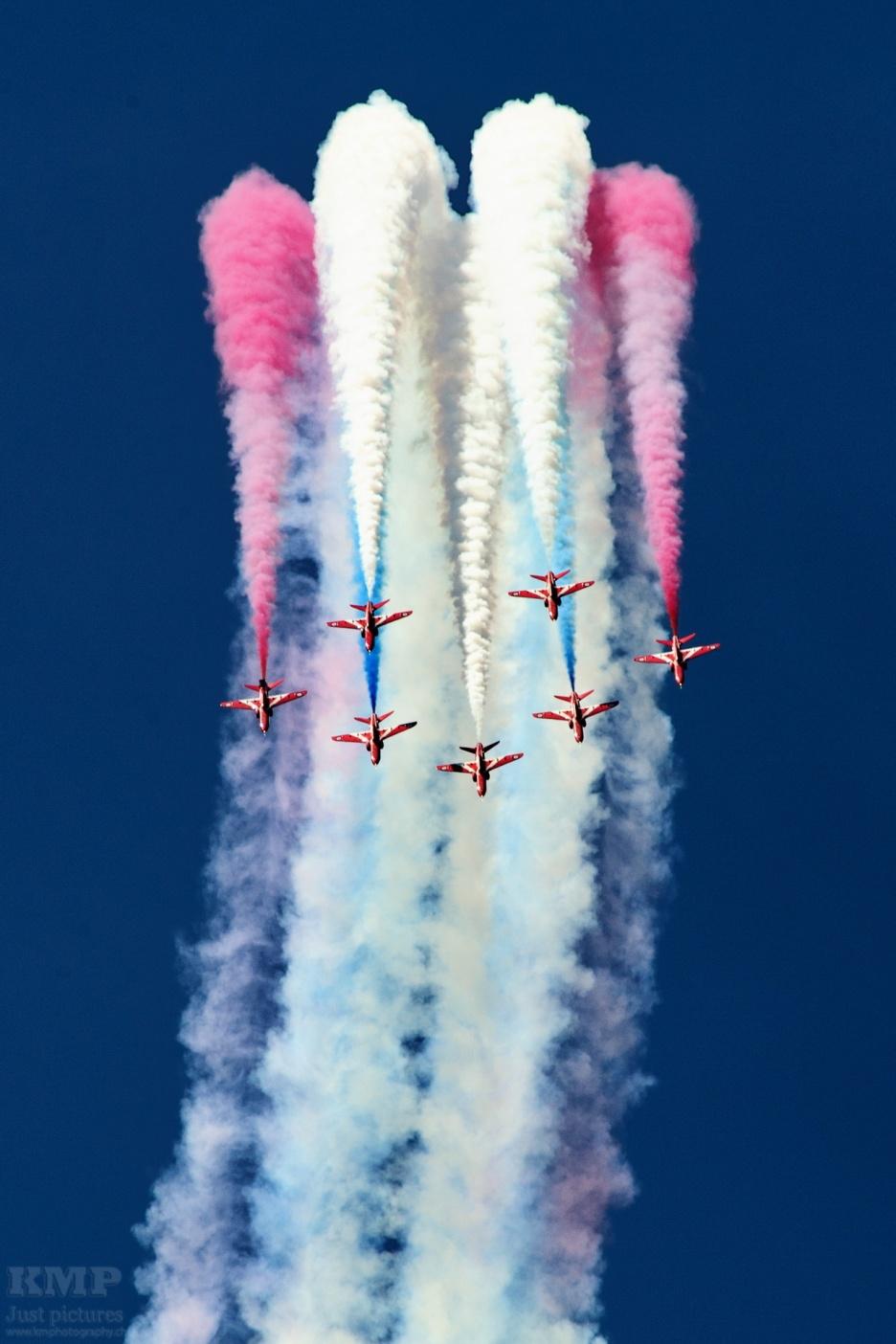 RAF Aerobatic Team Red Arrows