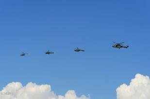 SAF Helikopters: Alouette II, Alouette III, EC-635, Cougar