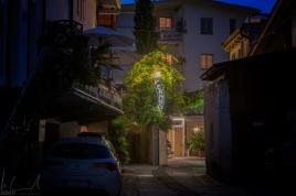 Eingang Hotel Pernhof, Tramin
